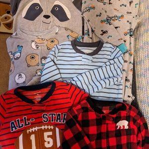 Toddler Fleece Footed Pajamas